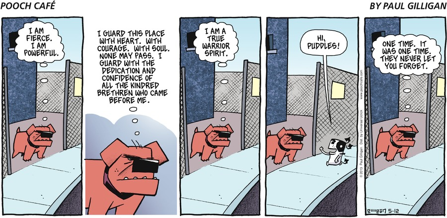 Pooch Cafe Comic Strip for May 12, 2013