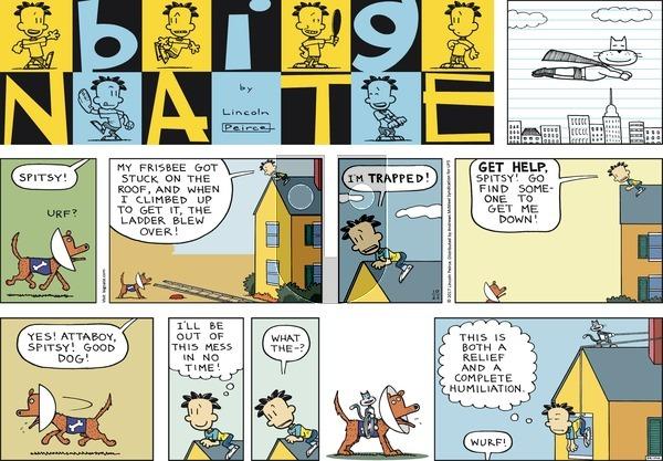 Big Nate - Sunday October 22, 2017 Comic Strip