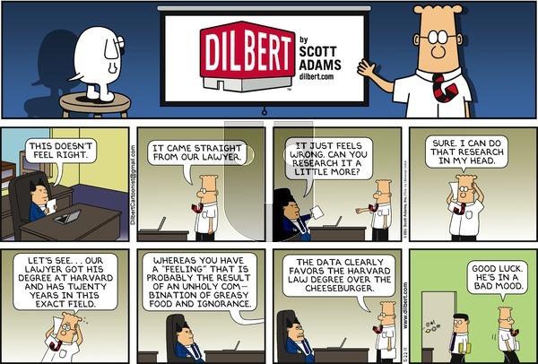 Dilbert - Sunday May 22, 2011 Comic Strip
