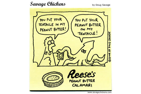 Savage Chickens Comic Strip for July 05, 2013