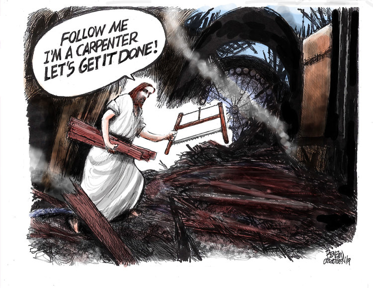 Steve Benson Comic Strip for April 17, 2019