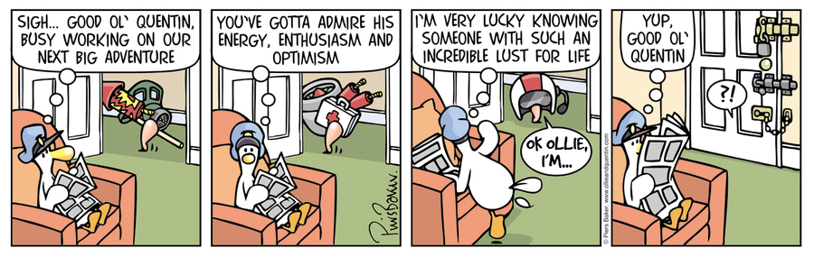 Ollie and Quentin for Apr 16, 2016 Comic Strip