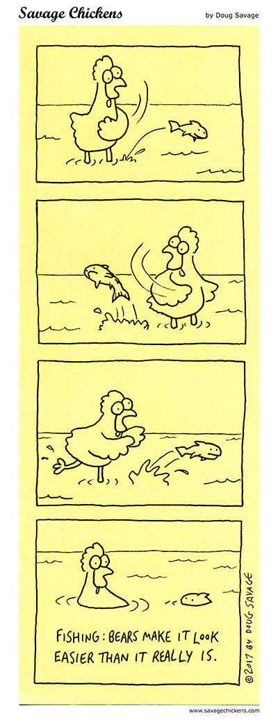 Savage Chickens Comic Strip for July 23, 2021