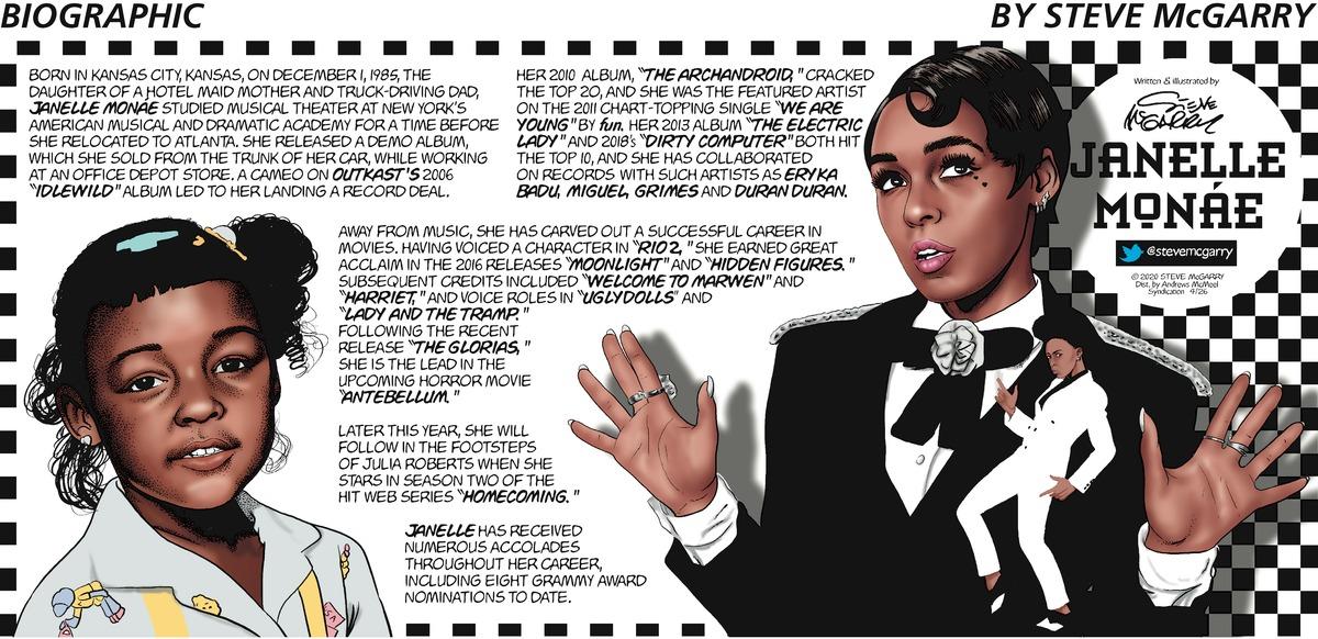 Biographic Comic Strip for April 26, 2020