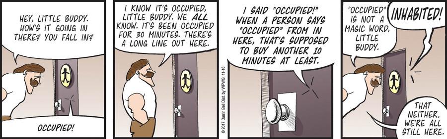 Rudy Park Comic Strip for November 16, 2017