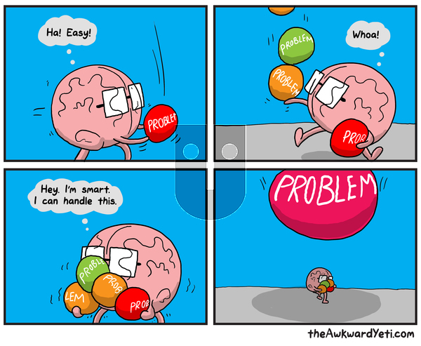 The Awkward Yeti on Monday October 28, 2019 Comic Strip