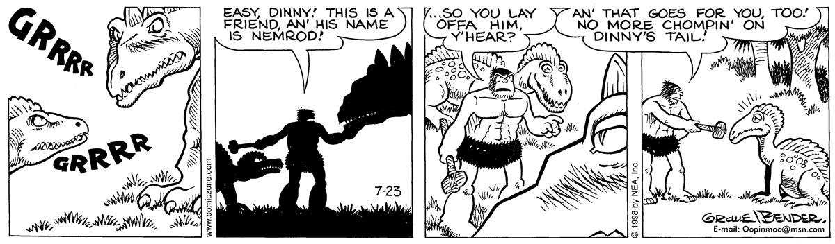 Alley Oop for Jul 23, 1998 Comic Strip