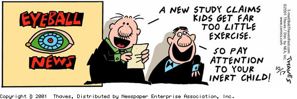Frank and Ernest for Oct 17, 2001 Comic Strip