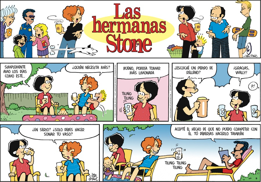 Las Hermanas Stone by Jan Eliot for Jul 22, 2018