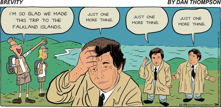 Brevity Comic Strip for November 29, 2020