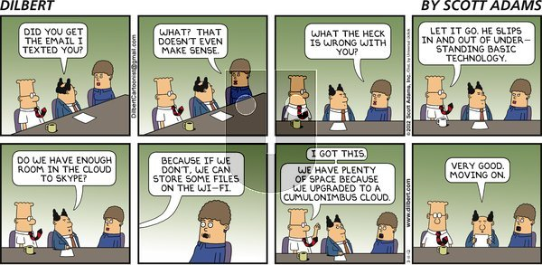Dilbert on Sunday March 11, 2012 Comic Strip