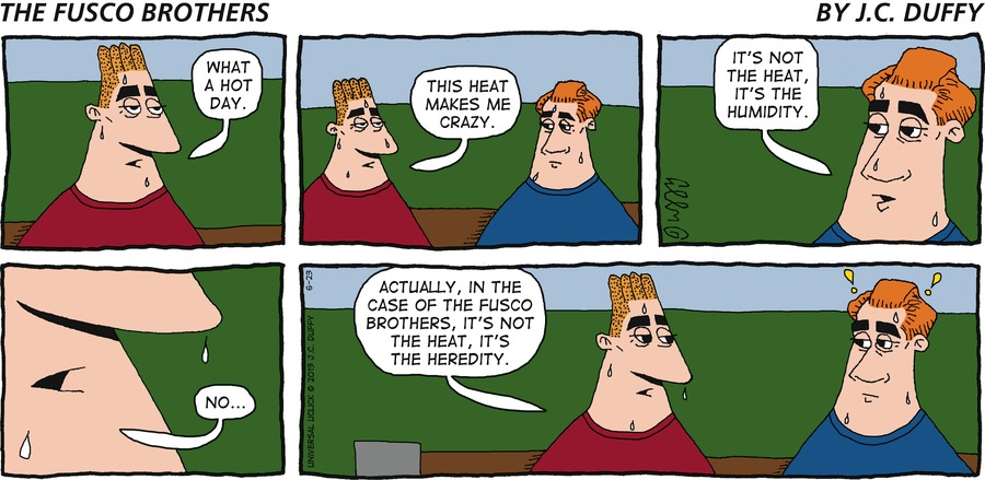 The Fusco Brothers for Jun 23, 2013 Comic Strip