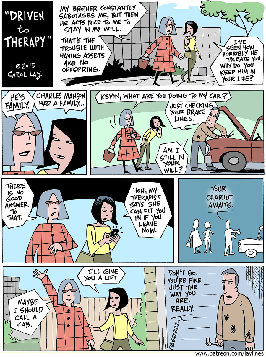 Lay Lines Comic Strip for January 31, 2016
