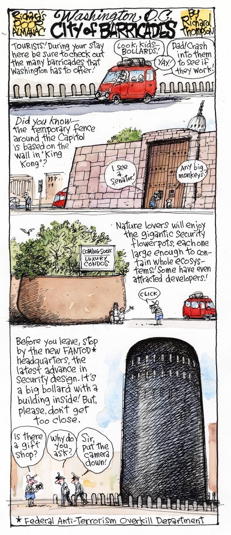 Richard's Poor Almanac Comic Strip for April 12, 2015