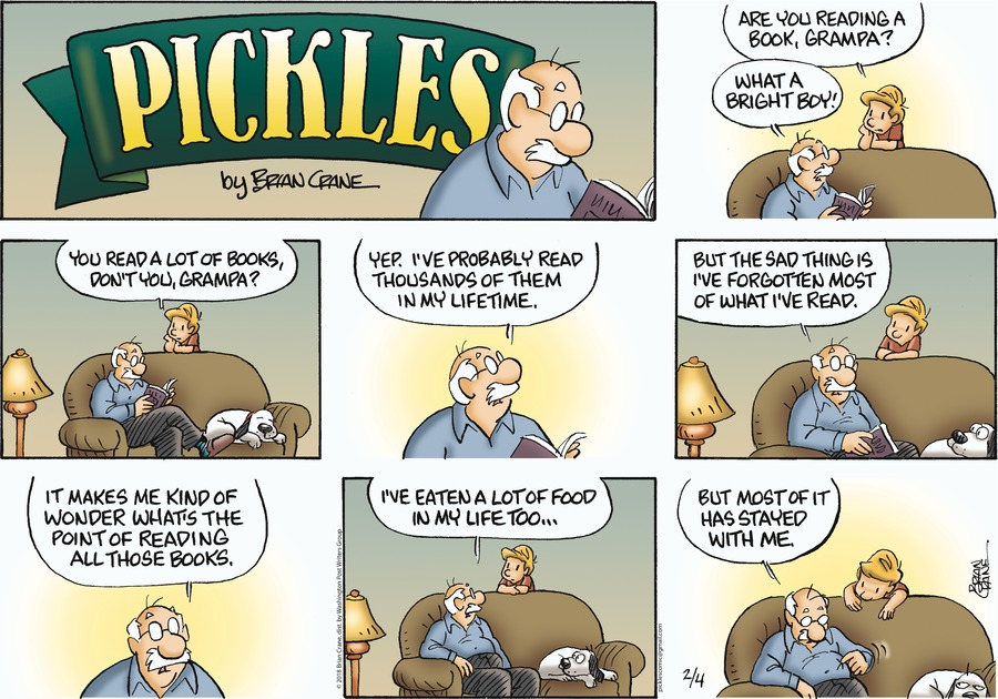 Pickles Comic Strip for February 04, 2018