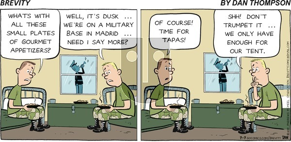Brevity on Sunday July 7, 2019 Comic Strip
