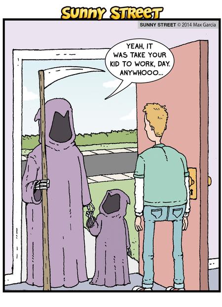 Sunny Street Comic Strip for April 29, 2014