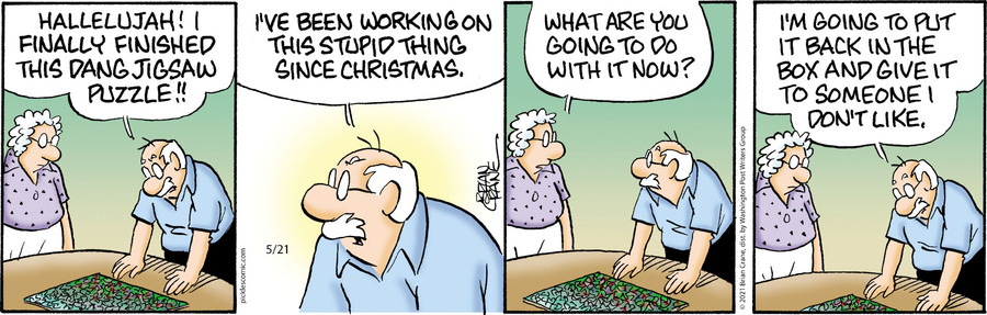 Pickles Comic Strip for May 21, 2021