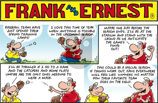 Frank and Ernest on Sunday February 28, 2021 Comic Strip