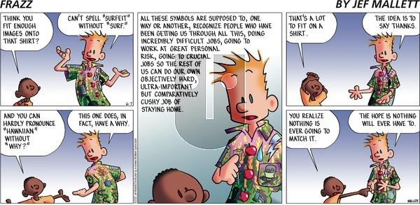 Frazz - Sunday June 7, 2020 Comic Strip