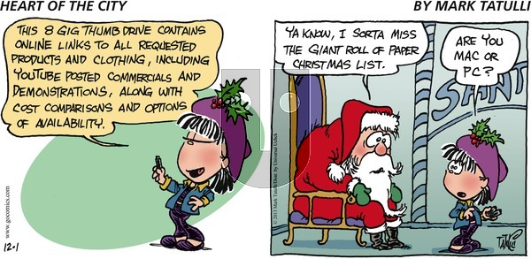 Heart of the City on Sunday December 1, 2013 Comic Strip