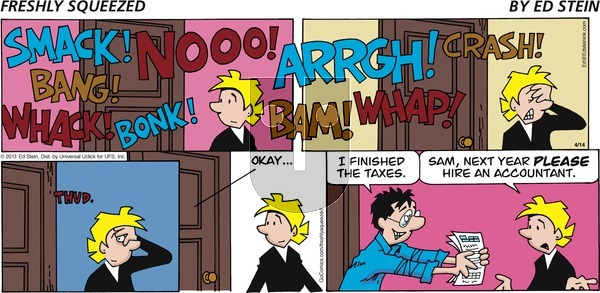 Freshly Squeezed - Sunday April 26, 2020 Comic Strip