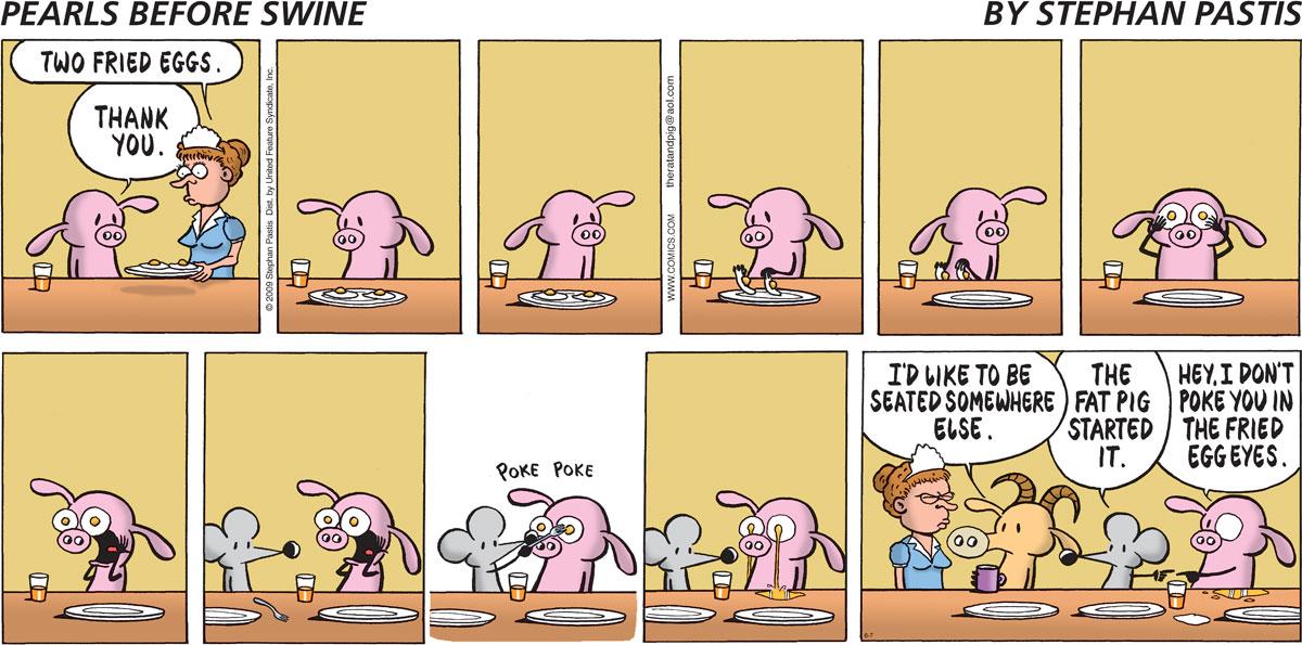 Pearls Before Swine Comic Strip for June 07, 2009