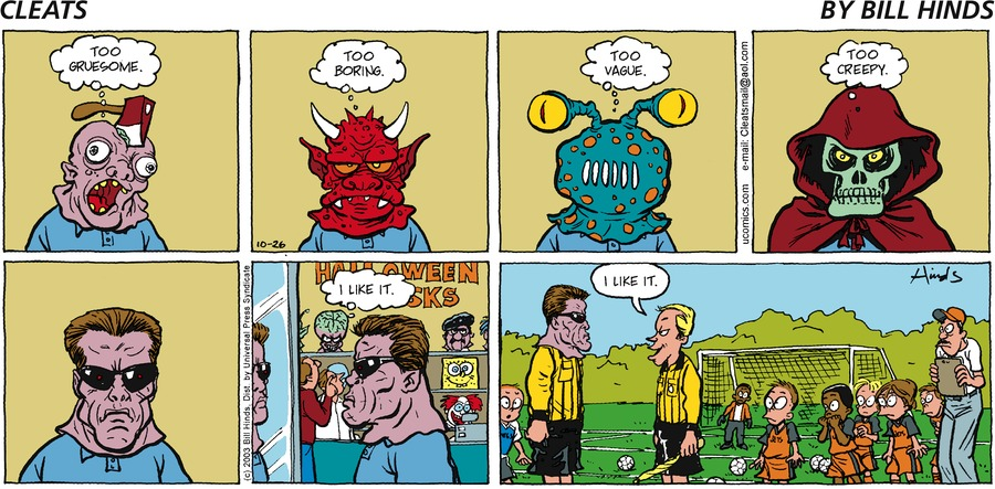 Cleats by Bill Hinds on Mon, 04 Oct 2021