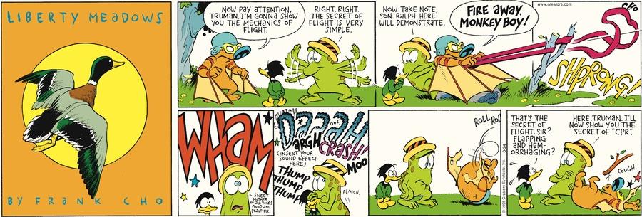 Liberty Meadows for Aug 24, 2014 Comic Strip