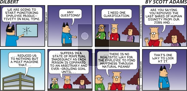 Dilbert on Sunday November 15, 2015 Comic Strip