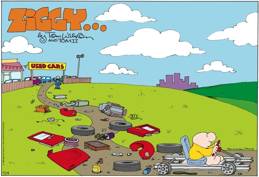 Ziggy for Jul 19, 1998 Comic Strip