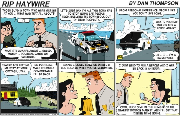 Rip Haywire on Sunday January 5, 2020 Comic Strip