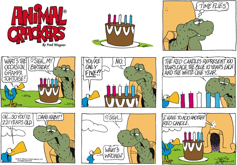 Animal Crackers Comic Strip for November 09, 2014