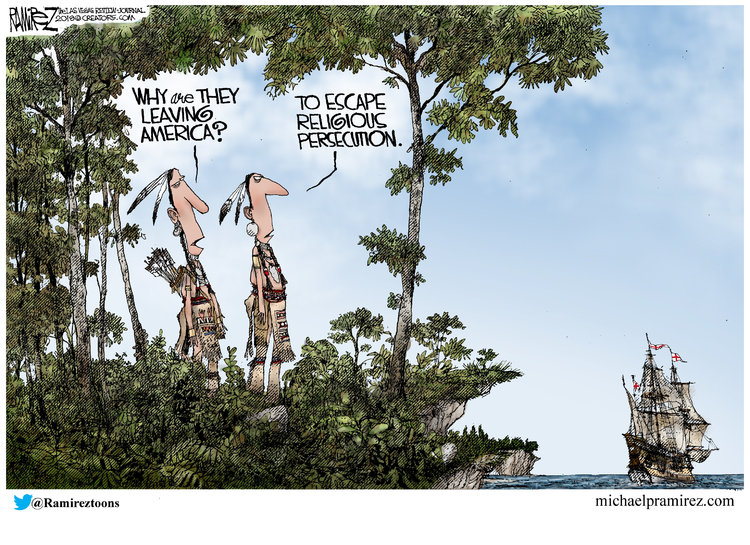 Michael Ramirez Comic Strip for November 21, 2018