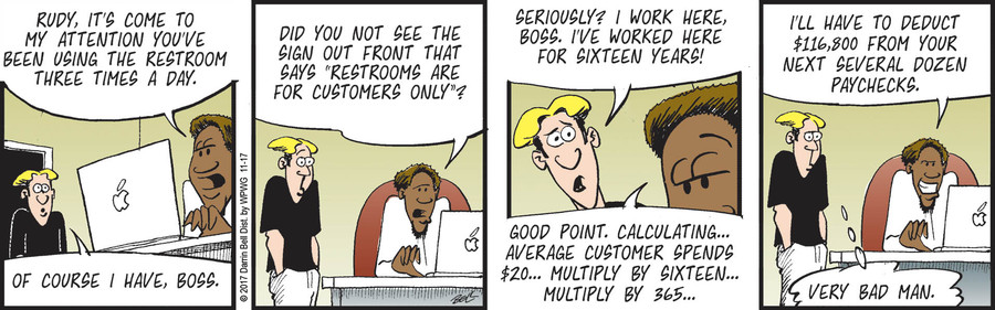 Rudy Park Comic Strip for November 17, 2017