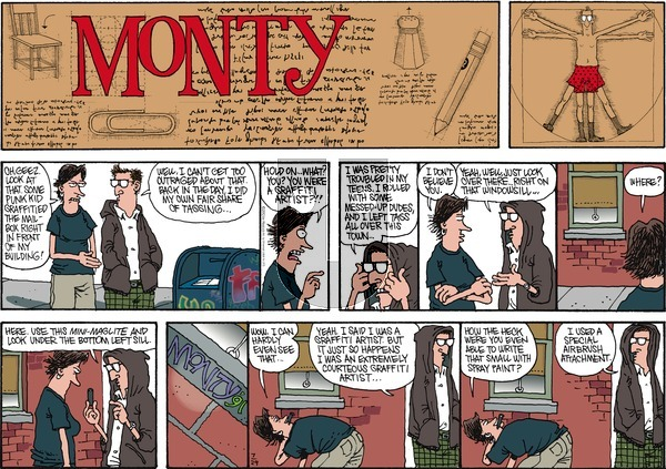 Monty - Sunday July 29, 2012 Comic Strip