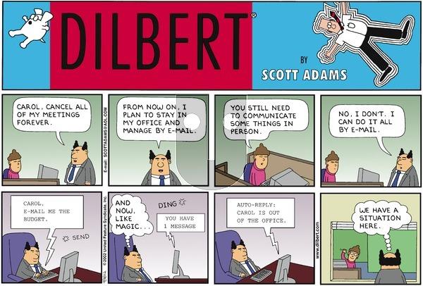 Dilbert - Sunday September 8, 2002 Comic Strip