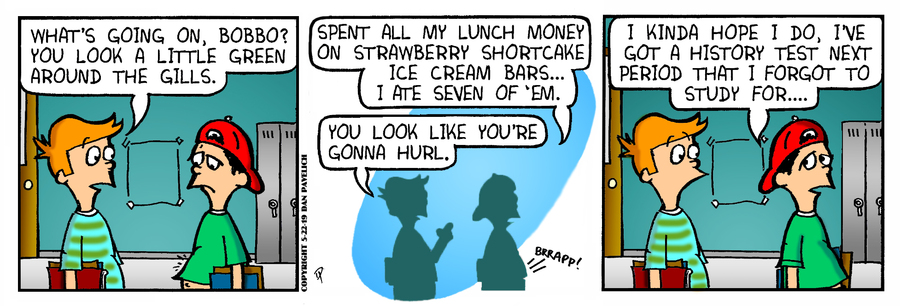 Just Say Uncle Comic Strip for May 22, 2019