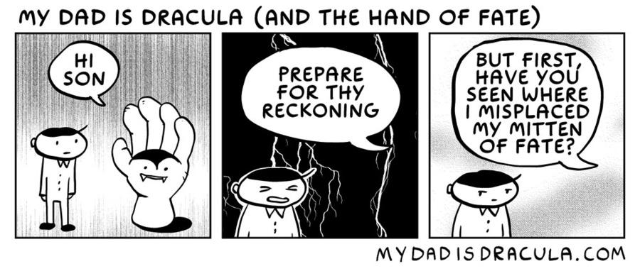 My Dad is Dracula by Jason Poland on Thu, 02 Jul 2020