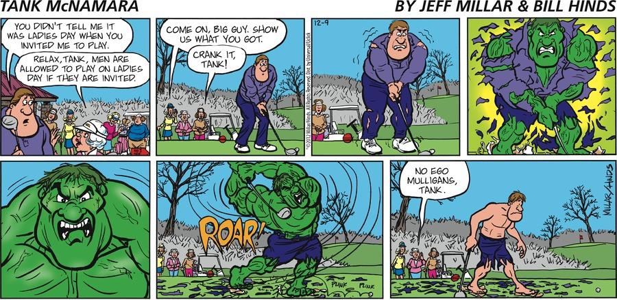 Tank McNamara for Dec 9, 2012 Comic Strip