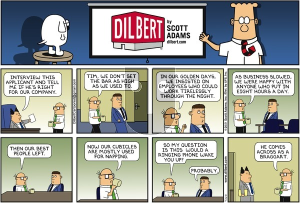 Dilbert on Sunday September 26, 2010 Comic Strip
