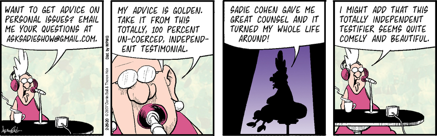 Rudy Park Comic Strip for February 26, 2020