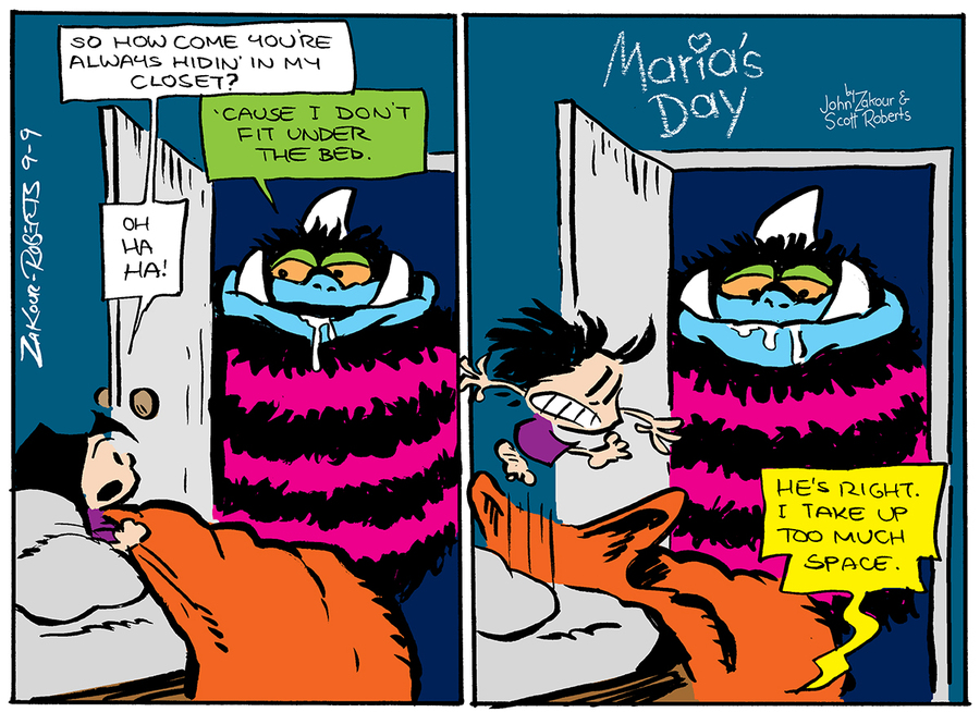 Maria's Day Comic Strip for September 09, 2018