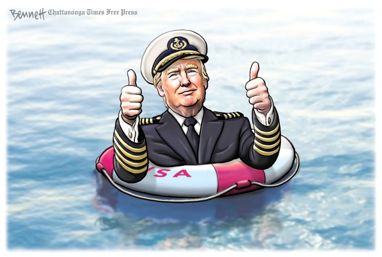 Clay Bennett Comic Strip for July 18, 2020