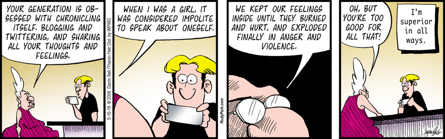 Rudy Park Comic Strip for May 15, 2019
