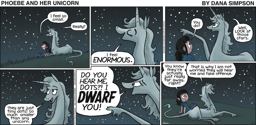 Phoebe and Her Unicorn Comic Strip for August 25, 2019