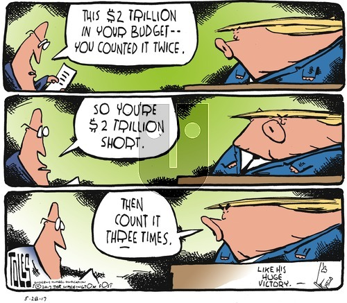 Tom Toles on Sunday May 28, 2017 Comic Strip