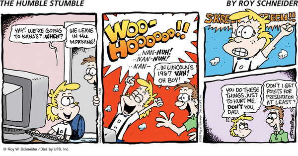 The Humble Stumble for Dec 30, 2012 Comic Strip