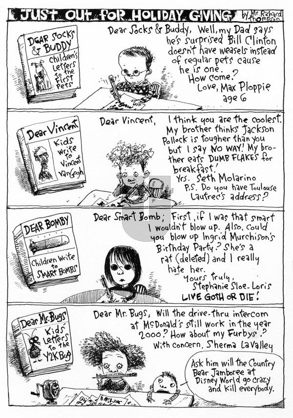 Richard's Poor Almanac on Sunday November 15, 2015 Comic Strip