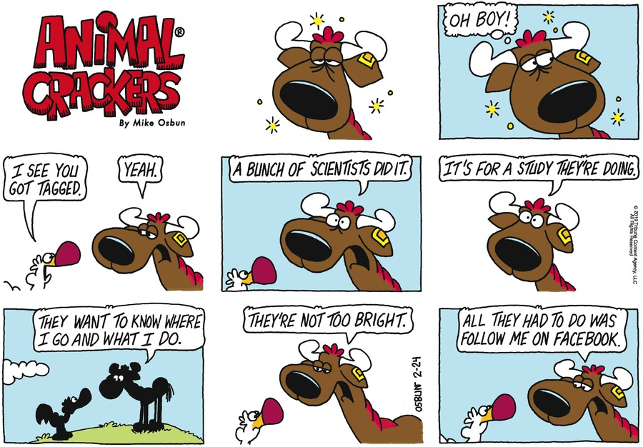 Animal Crackers Comic Strip for February 24, 2019